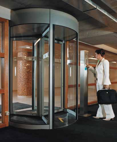 Tourlock 180+90 - This high-security revolving door offers a high level of protection against tailgating and piggybacking while maximizing throughout. & Security Revolving Doors | Door Control Services Inc. | Ben Wheeler ...